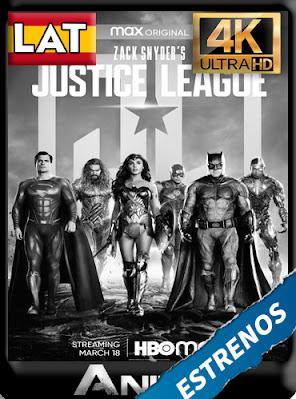 La Liga de la Justicia de Zack Snyder (2021) HMAX WEB-DL Latino 4K [2160P] [GoogleDrive] AioriaHD