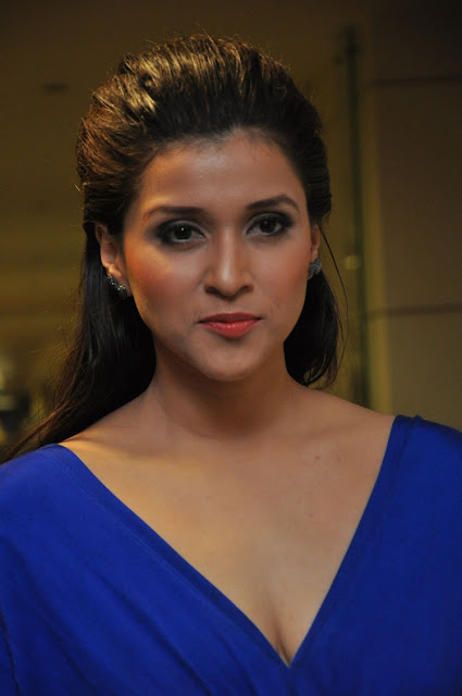 Mannara Chopra Stills at Rogue Movie Trailer Launch