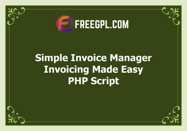 Simple Invoice Manager – Invoicing Made Easy Free Download