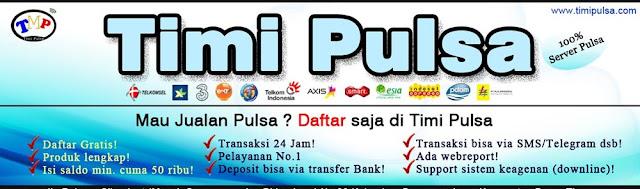 Banner Timi Pulsa