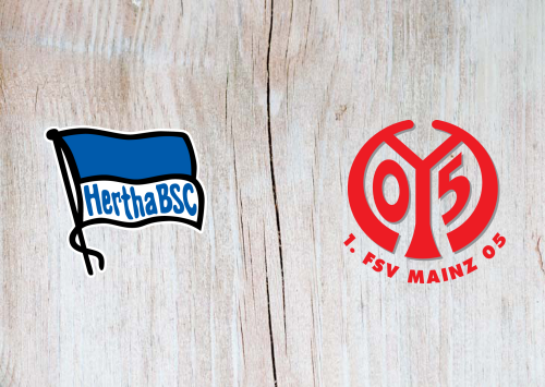 Hertha BSC vs Mainz 05 -Highlights 8 February 2020