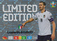 Panini Adrenalyn XL euro 2020 leonardo bonucci-Limited Edition