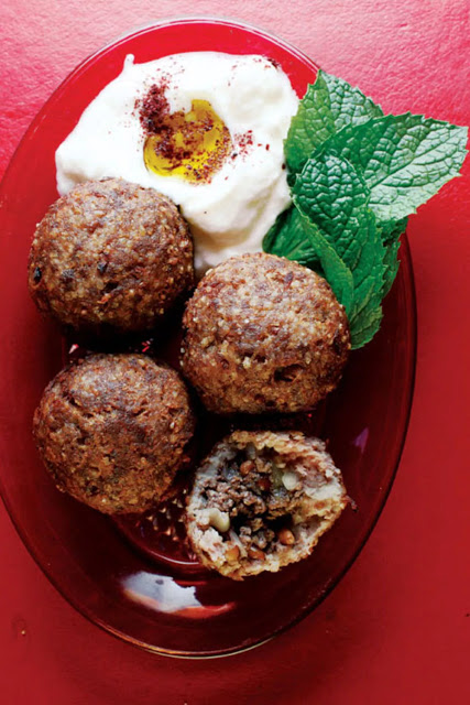 Middle Eastern kibbeh is a finely ground paste of bulgur KIBBEH (BEEF AND BULGUR WHEAT MEATBALLS) RECIPE