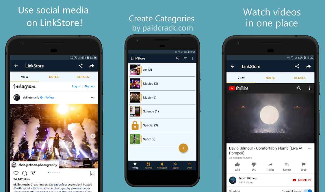 LinkStore: Save Links, Read and Watch Pro Mod Apk 1.4.3