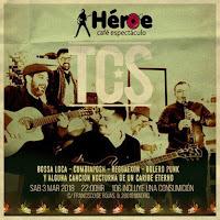 Concierto de TCS en el Héroe Café Espectáculo