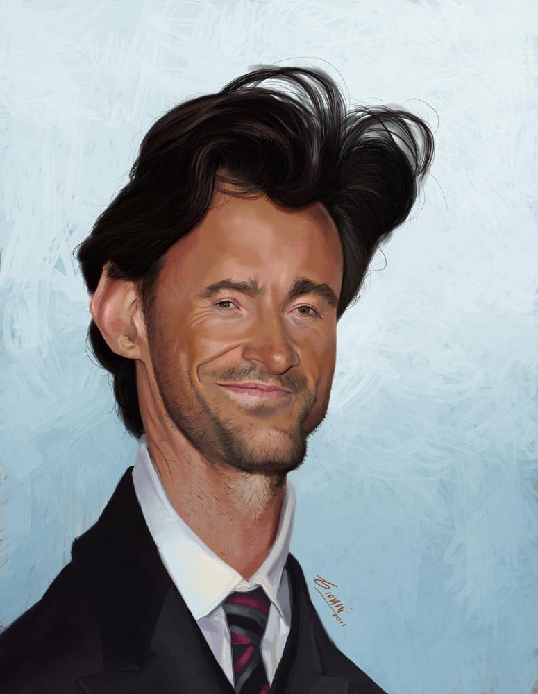 """""""Hugh Jackman"""" por Giovani Kososki"""
