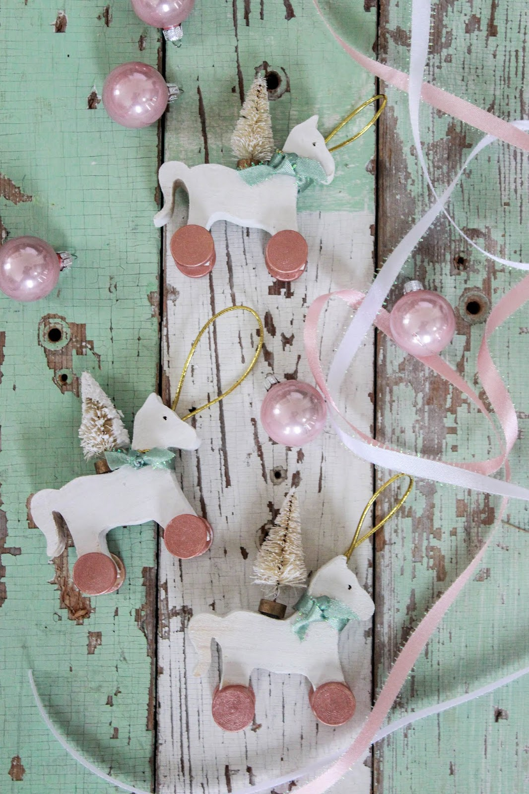 vintage inspired christmas ornaments diy