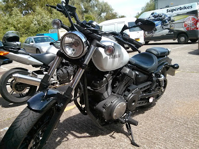 Yamaha Star XV950 Bolt parking area picture
