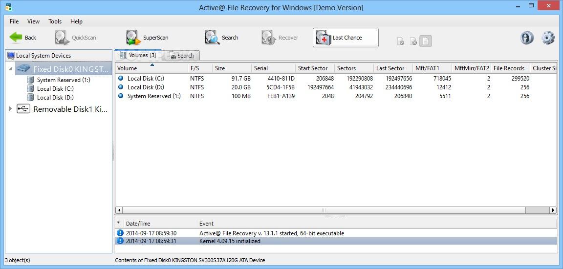 تحميل برنامج Active@ File Recovery 20.0 لاستعادة الملفات والأقراص المفقودة