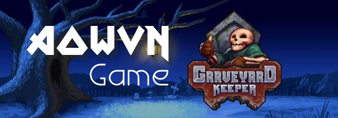 662px Graveyard keeper banner - [ Exciting ] Game Graveyard Keeper | PC - Nghĩa trang vui vẻ