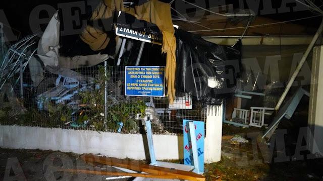 Σε κατάσταση έκτακτης ανάγκης η Χαλκιδική - Έξι νεκροί απ' τη θεομηνία