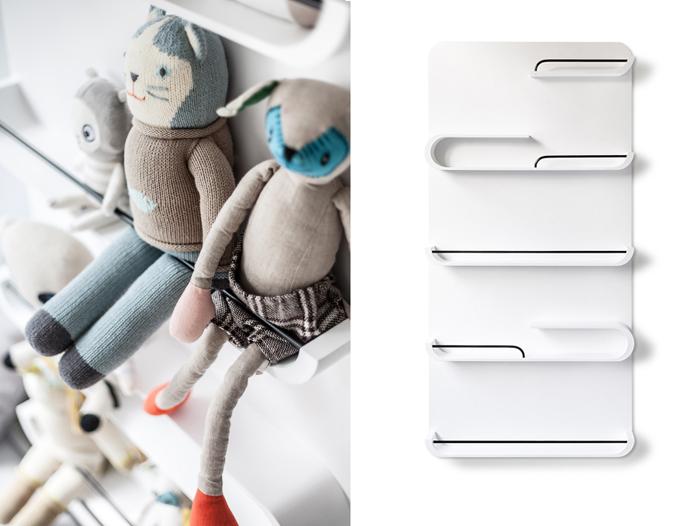 XL shelf white  from  Rafa-kids