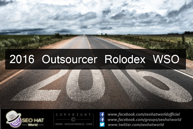 Download 2016 Outsourcer Rolodex WSO Free