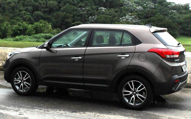 Hyundai Creta Prestige 2.0 Automático 2018 - Marron Bronze