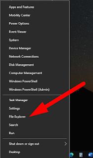Cara Membuka File Explorer Di Windows 10