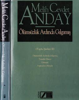 Melih Cevdet Anday - Bütün Eserleri 08 - Ölümsüzlük Ardında Gılgamış - Bütün Şiir 2
