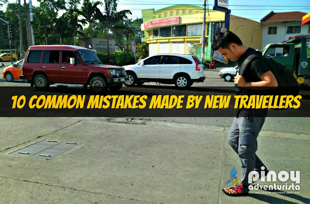 10 Common Mistakes Made by New Travellers