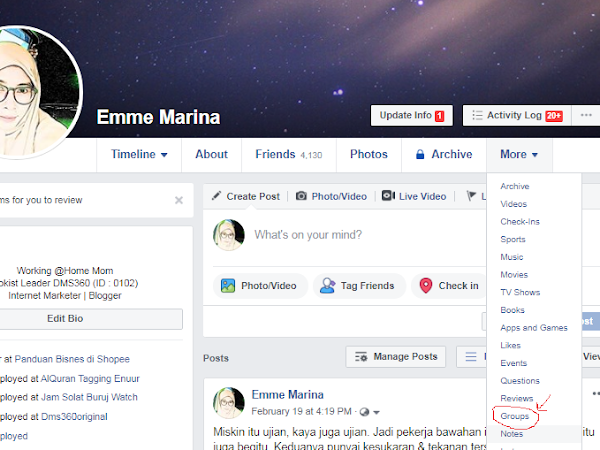 Cara Cari List Facebook Group Anda