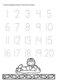 pensamiento matemático preescolar