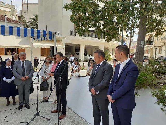 Πρέβεζα: Παρουσία του Δημάρχου Πρέβεζας, Ν. Γεωργάκου στο μνημόσυνο των 120 εκτελεσθέντων στο Αγρίνιο
