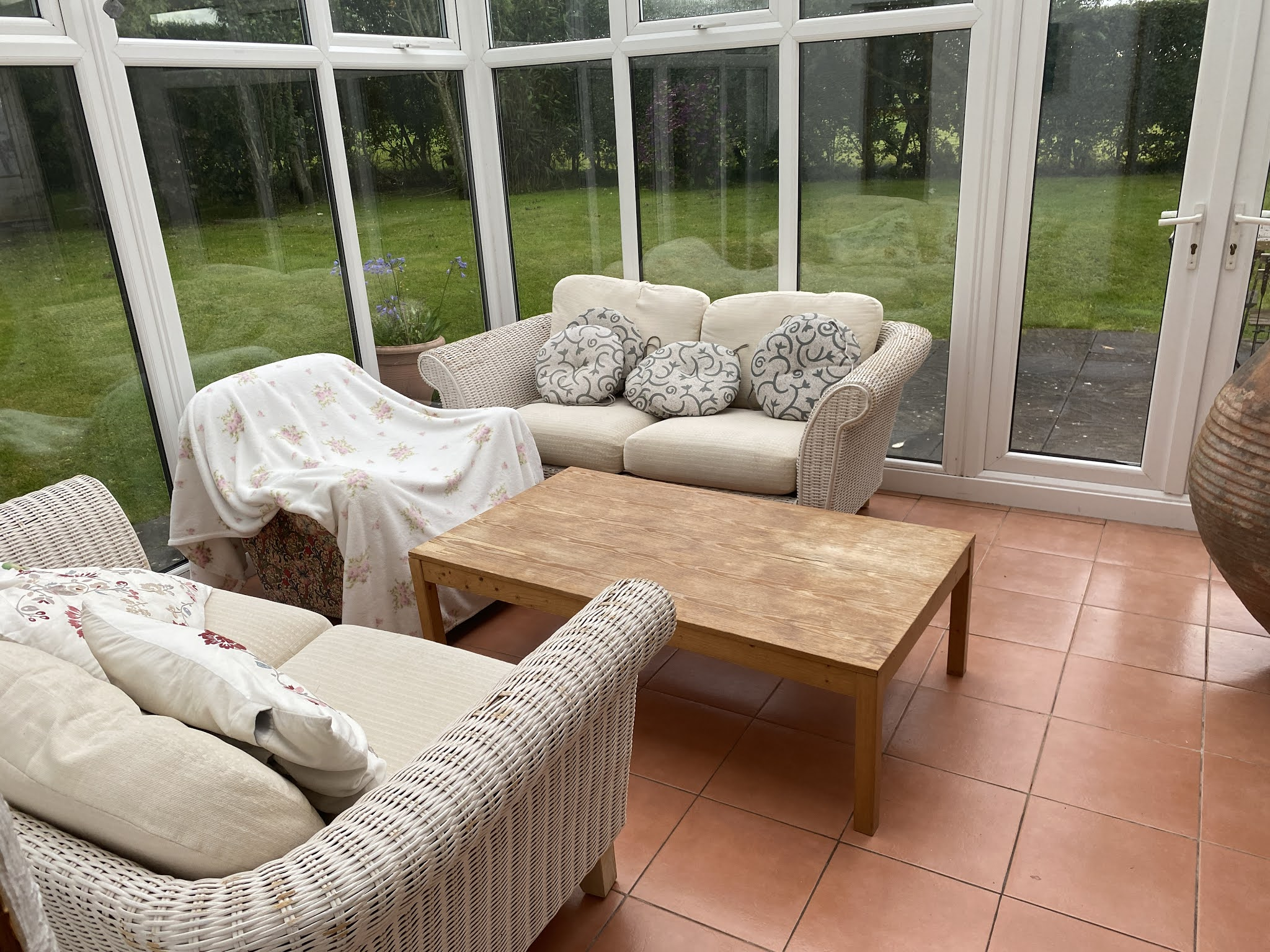 Snowdonia View Farmhouse - Conservatory