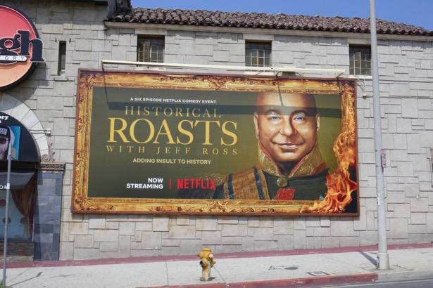 Historical Roasts Jeff Ross billboard