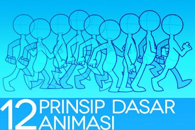 12 Prinsip Utama pada Animasi
