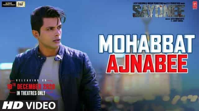 मोहब्बत अजनबी Mohabbat Ajnabee Lyrics In Hindi