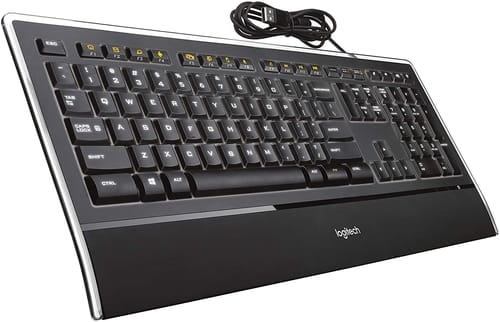 Review Logitech K740 Illuminated Ultrathin Keyboard