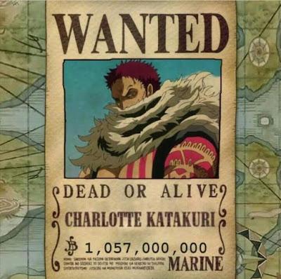 Sepuluh (10) Besar Harga Bounty Tertinggi di Anime One Piece (ワンピース) Terbaru