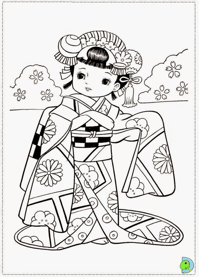 dinokids desenhos para colorir desenhos de meninas japonesas para colorir. Black Bedroom Furniture Sets. Home Design Ideas