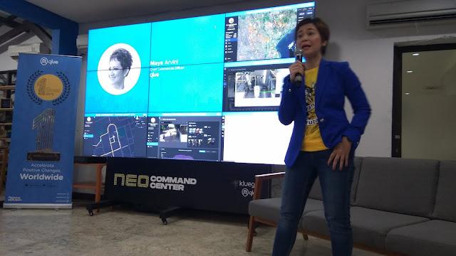 Maya Arvini, Chief  Commercial Oficer Qlue (ok.windhu)