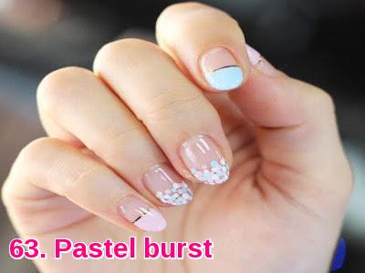 Pastel burst