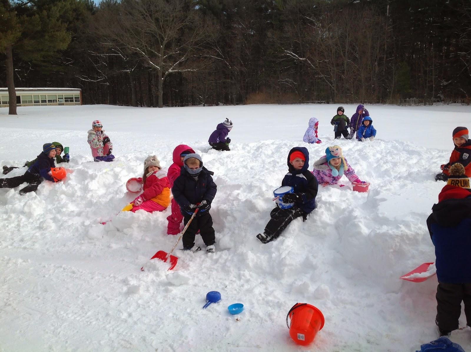 Mrs Rogers Kindergarten Happenings Snowy Day Fun
