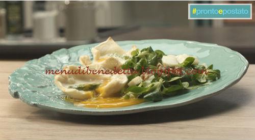 Pronto e postato - Uova in cocotte con asparagi ricetta Benedetta Parodi