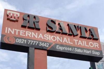 Lowongan RR Santa Tailor Pekanbaru Juni 2019