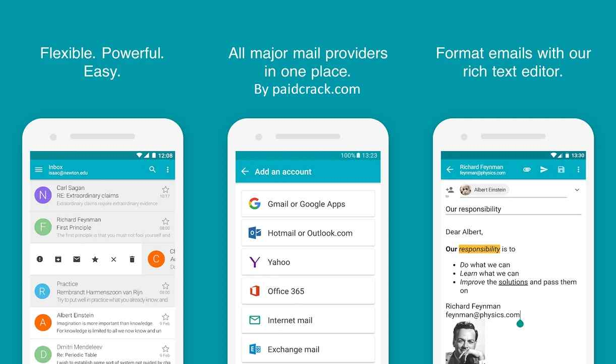 Aqua Mail - Email app for Any Email