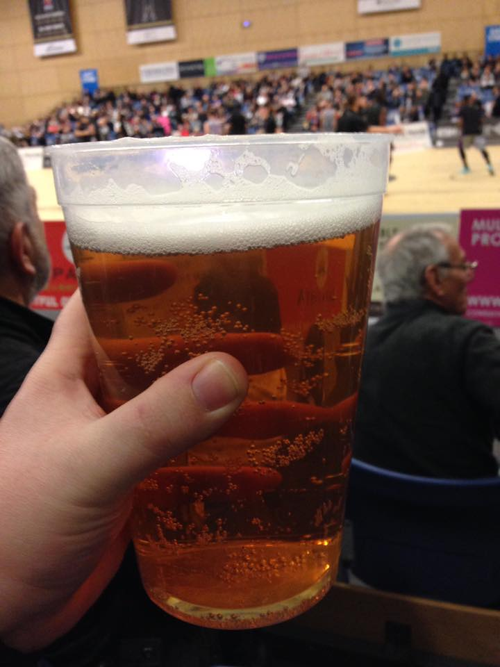 Friday Nights Out - Oh How They've Changed - a trip to watch Newcastle Eagles thanks to Zapatistas - 2 pint pitcher of beer