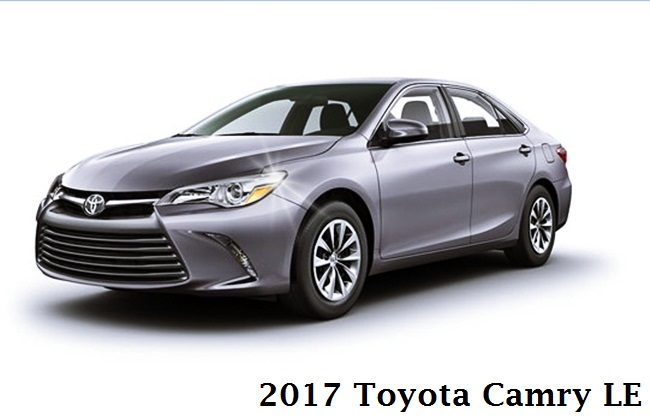 2017 Toyota Camry Le Specs Redesign Review
