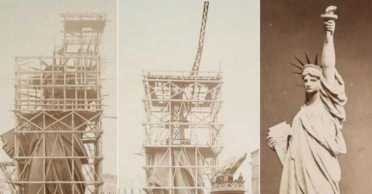 Özgürlük Heykeli'nin az bilinen bir diğer hikayesi bu fotoğraftaki gibi başladı ve bitti.