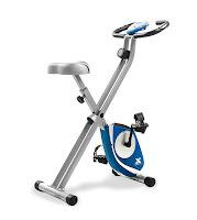 Xterra Fitness FB150 Folding Exercise Bike, upright, review features compared with FB350