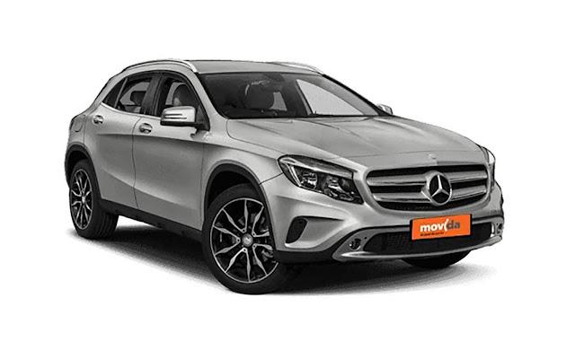 Mercedes-Benz GLA: aluguel na Movida sai a R$ 279 por dia