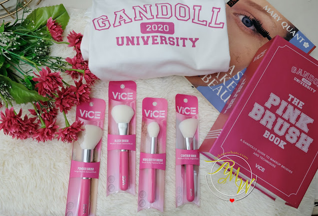 Vice Cosmetics' Pink Brush Collection Review