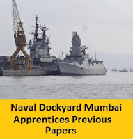 Naval Dockyard Mumbai Apprentices Previous Papers