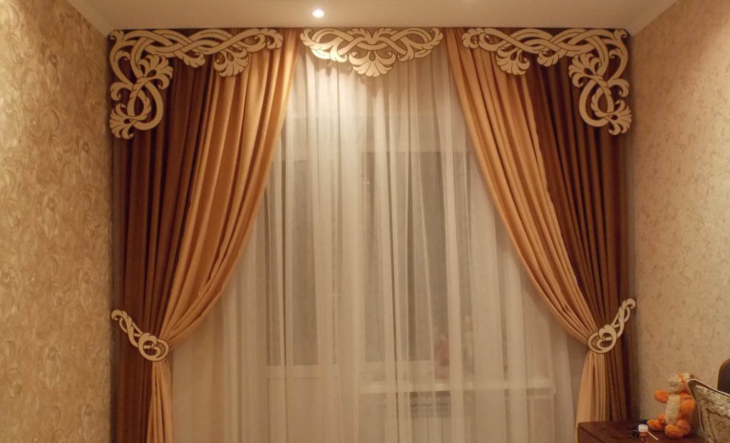 +60 Stylish Window Curtains Designs for living room ...
