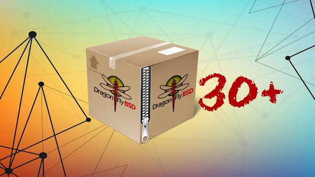 DragonflyBSD agora possui mais de trinta mil pacotes