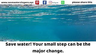 save water slogans 1