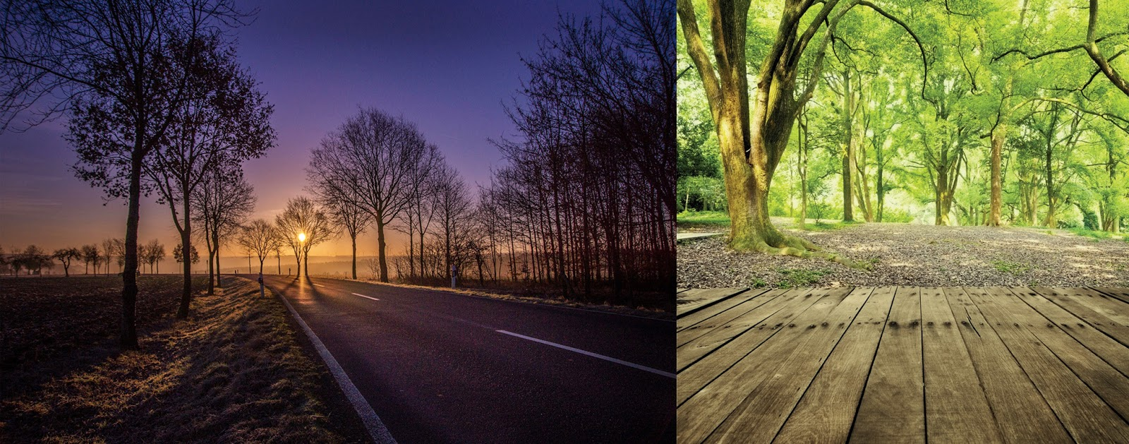 memaksimlakan Komposisi Foto Landscape
