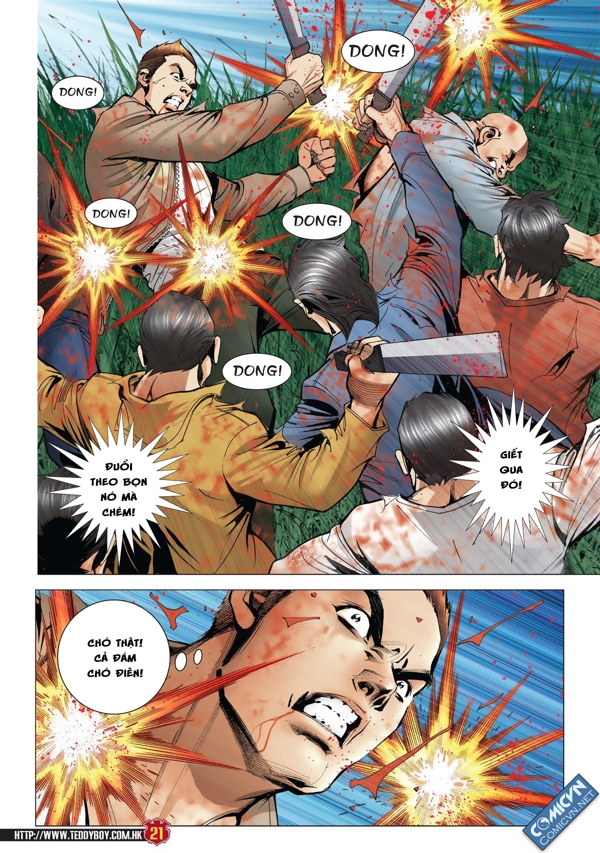 Người Trong Giang Hồ chapter 1986: chạy trang 19