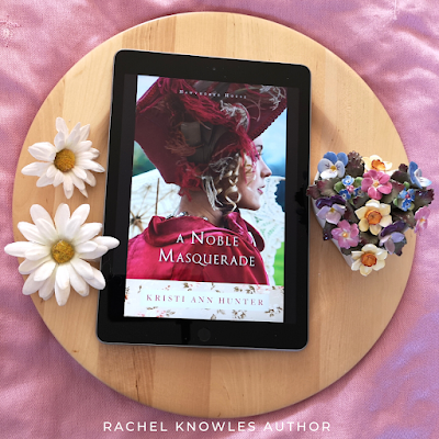 Front cover of A Noble Masquerade by Kristi Ann Hunter